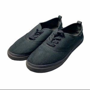 H&M Black Slip-on Shoes, size 10